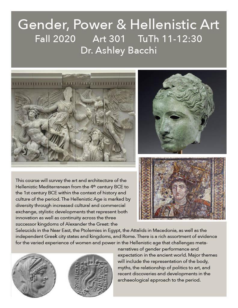 Art 301 Gender, Power and Hellenistic Art