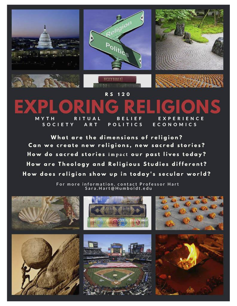 RS 120 Exploring Religions