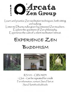 RS 394 Experience Zen Buddhism
